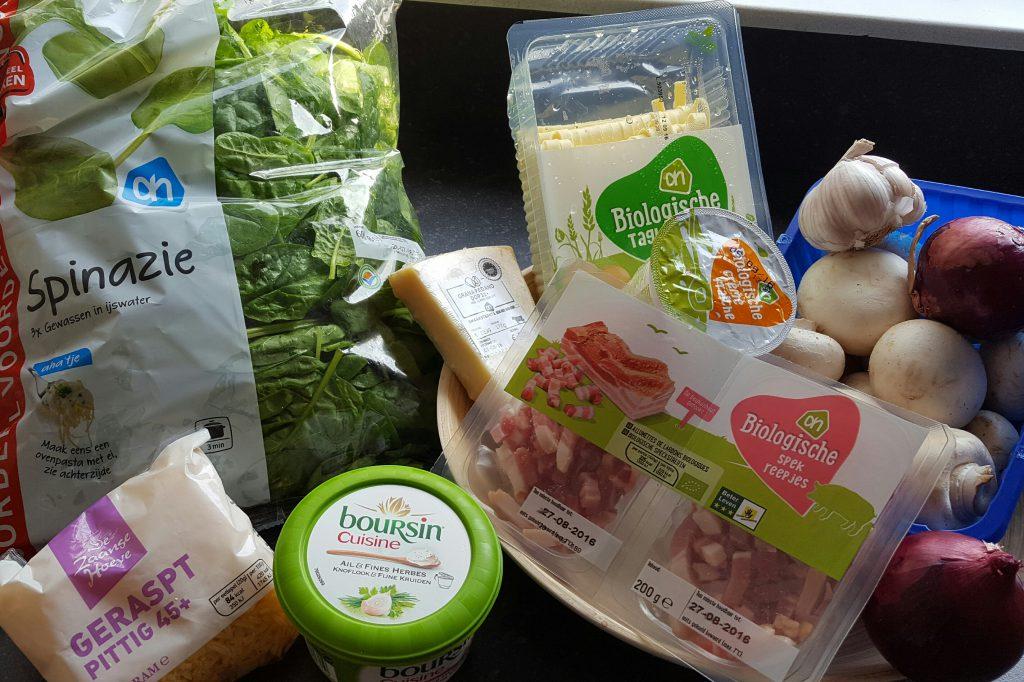 pasta boursin cuisine recept