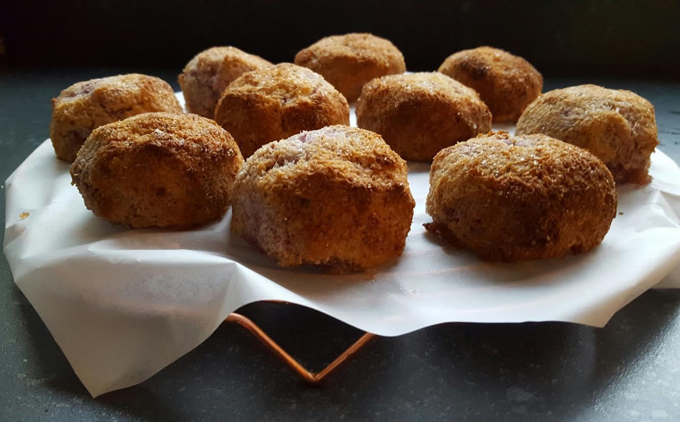 Recept: Jonna's Kokosbollen met witte chocola en framboos