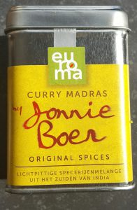 Jonnie Boer Original Spices Curry madras burgertrutjes.nl