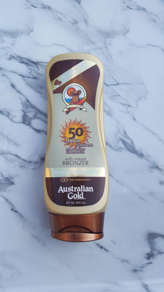 Favoriete zonnebrand burgertrutjes australian gold