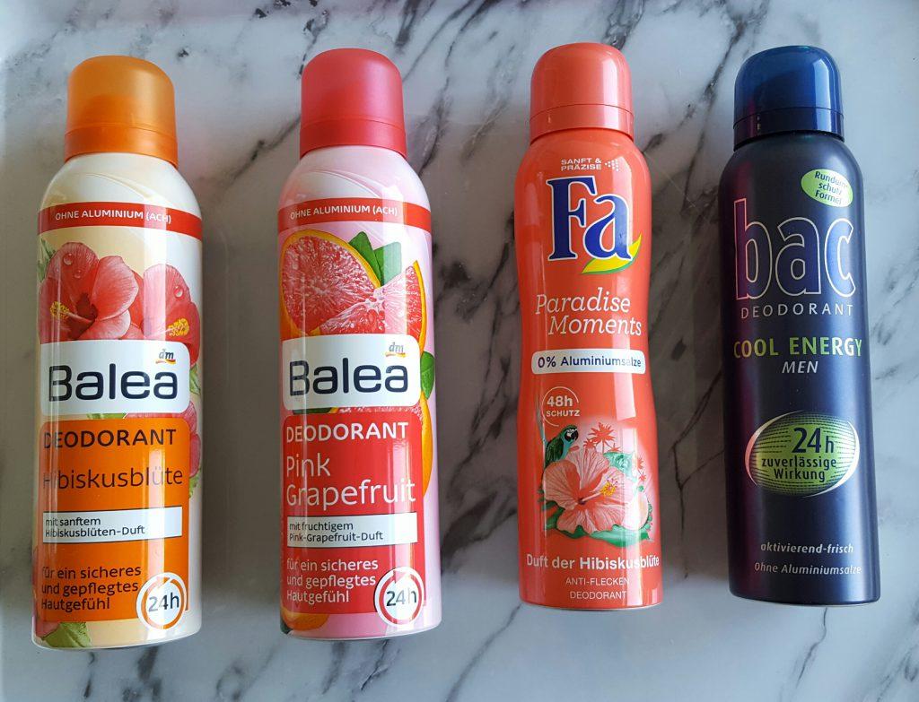 Shoplog DM Drogist duitsland burgertrutjes deodorant