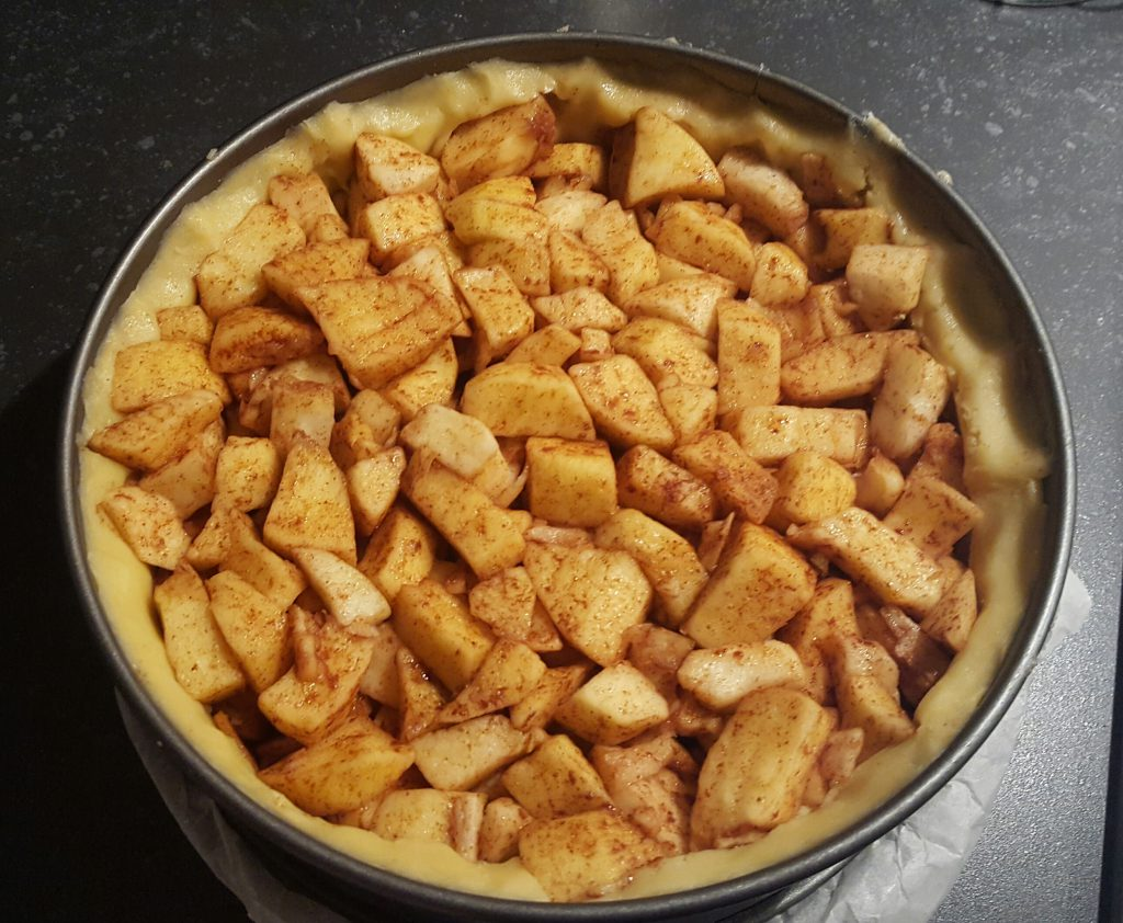 Recept appelkruimeltaart zonder pakjes en zakjes