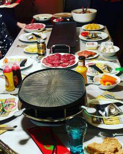 Gourmetten kerst burgertrutjes diner