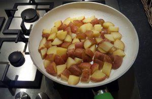 gebakken aardappels burgertrutjes