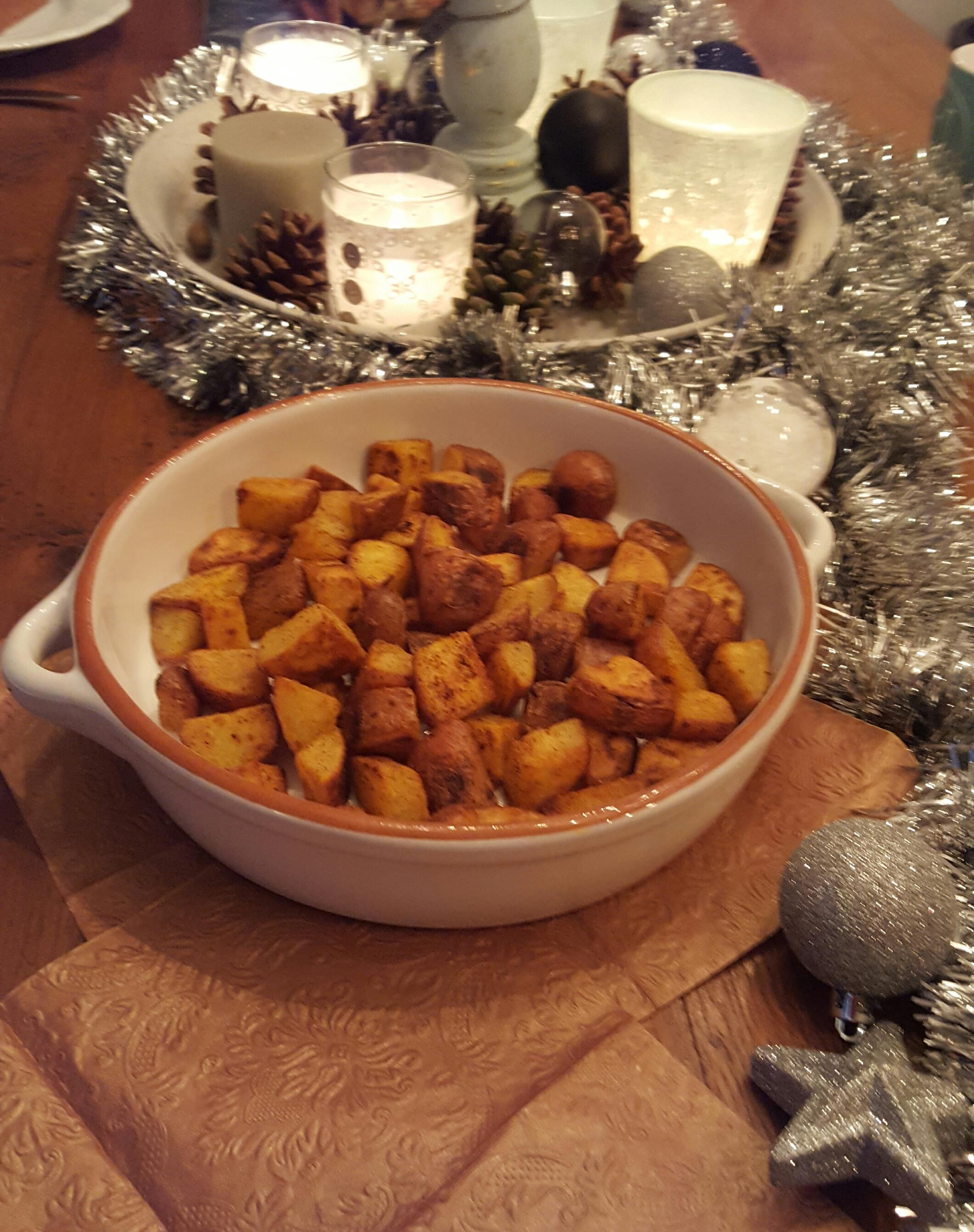 recept gebakken aardappels krokant van buiten zacht van binnen