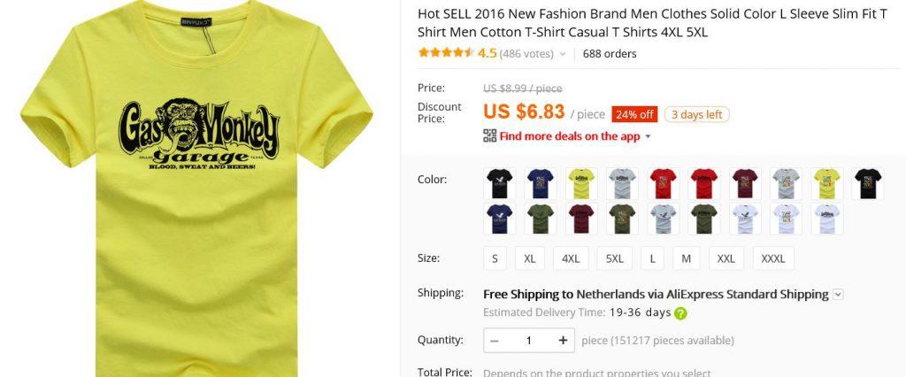 shoplog aliexpress review burgertrutjes tshirt