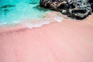 Elafonissi..roze beach!