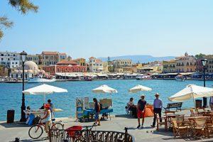 Vanaf de haven van Chania gaan er genoeg bootjes!