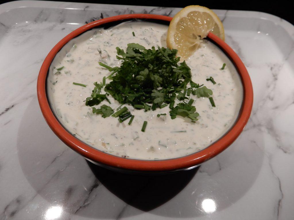 pitabroodjes met kip yoghurt knoflooksaus
