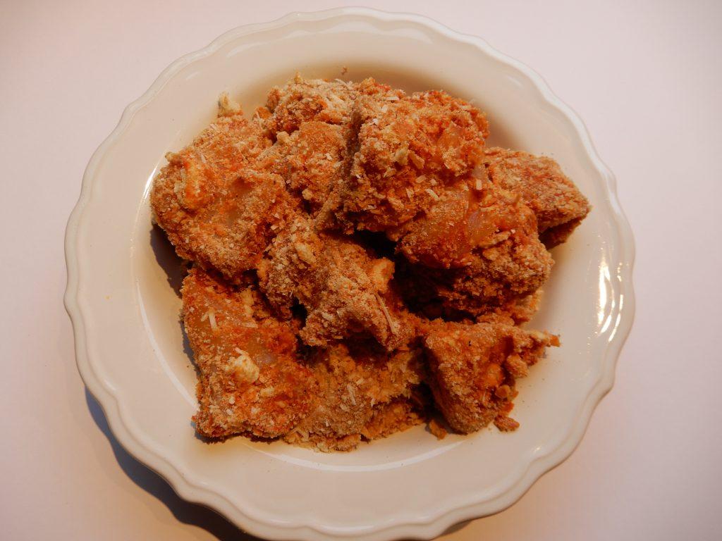 Wraps met krokante kip, cheddar, gebakken uitjes en honing mosterdsaus Recept BurgertrutjesNL