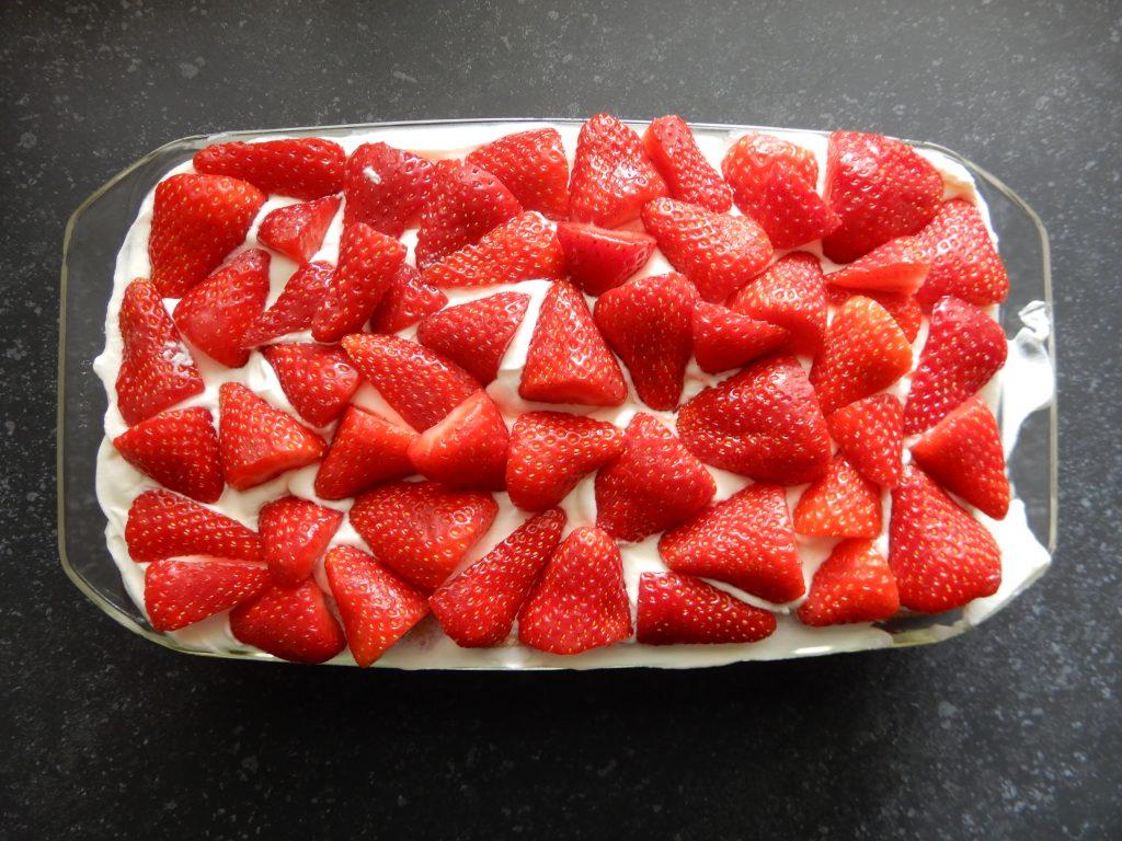Recept aardbeientiramisu zonder pakjes en zakjes. BurgertrutjesNL