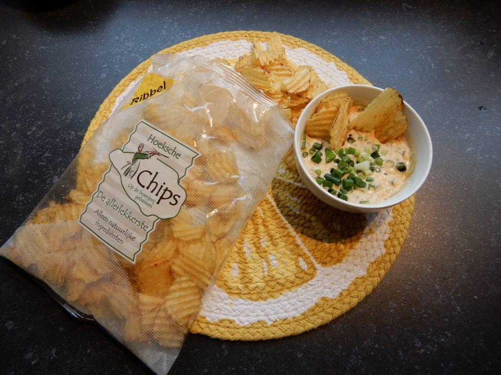 lekkere dip voor bij de chips recept en review burgertrutjesNL