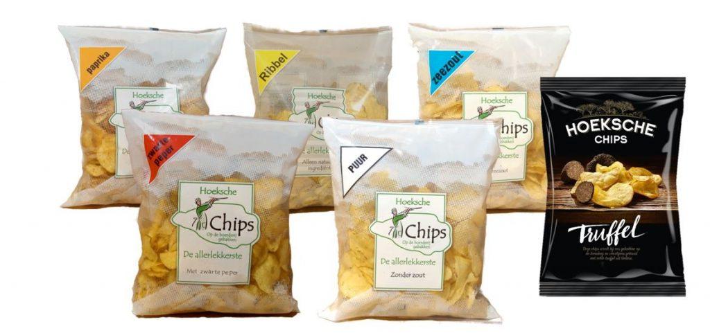 Verse chips uit de regio