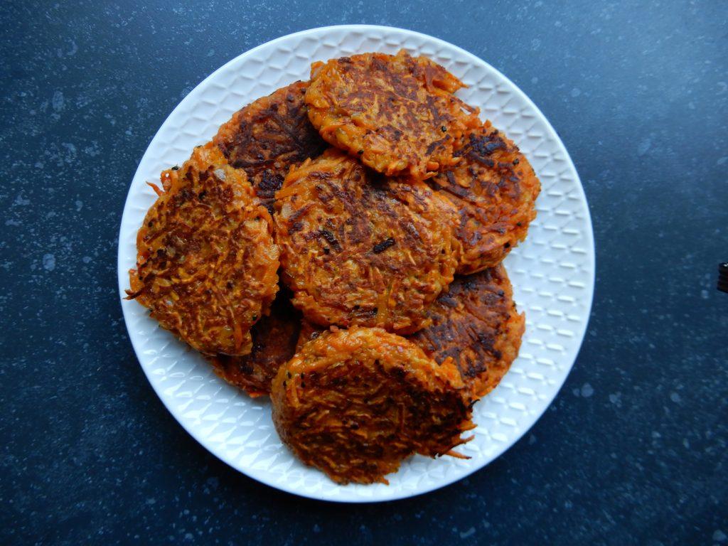 Rosti van zoete aardappel zonder pakjes en zakjes RECEPT BurgertrutjesNL
