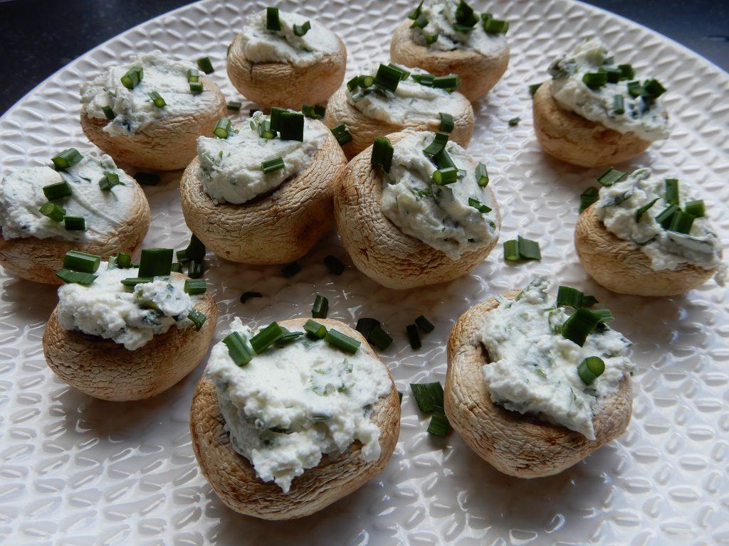 gevulde champignons met kruidenkaas en katenspek RECEPT BurgertrutjesNL