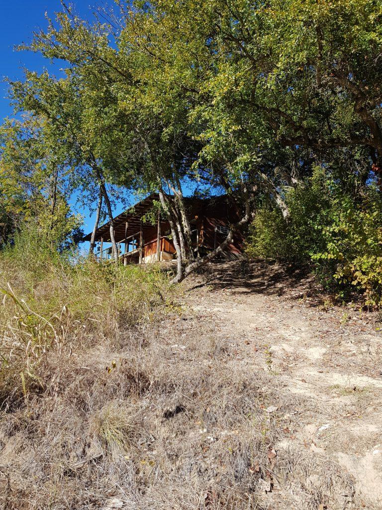 Rondreis texas cabin aan de river met jacuzzi