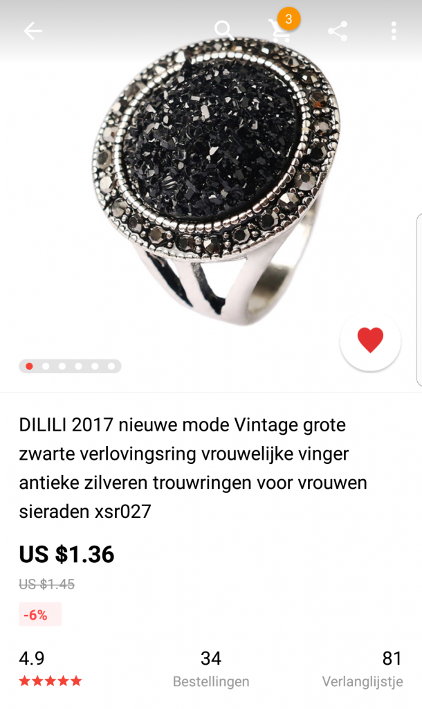 Shoplog Aliexpress 2018 - heel veel producten onder de € 5,-