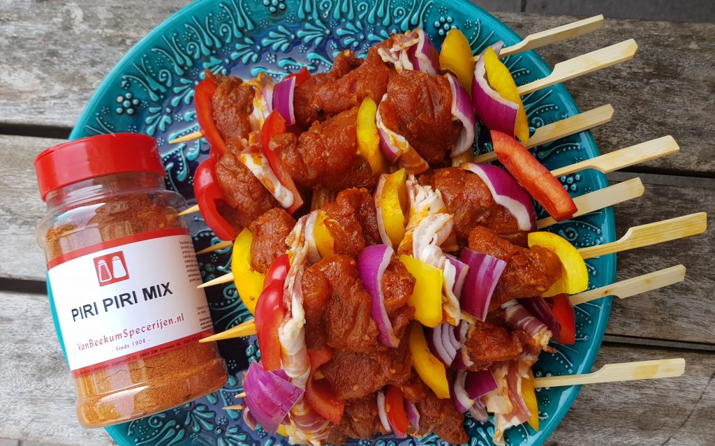 Recept piri piri spiesjes barbecue