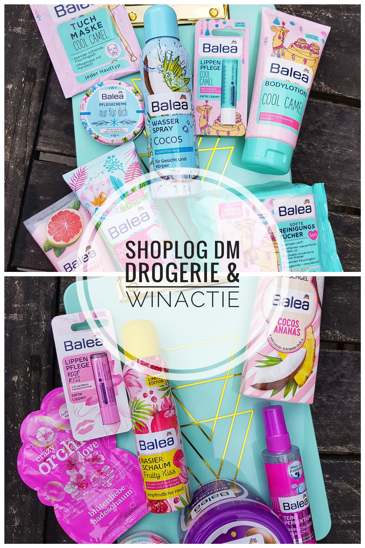 Shoplog DM Drogerie en winactie, prijsvraag, winnen, burgertrutjesNL