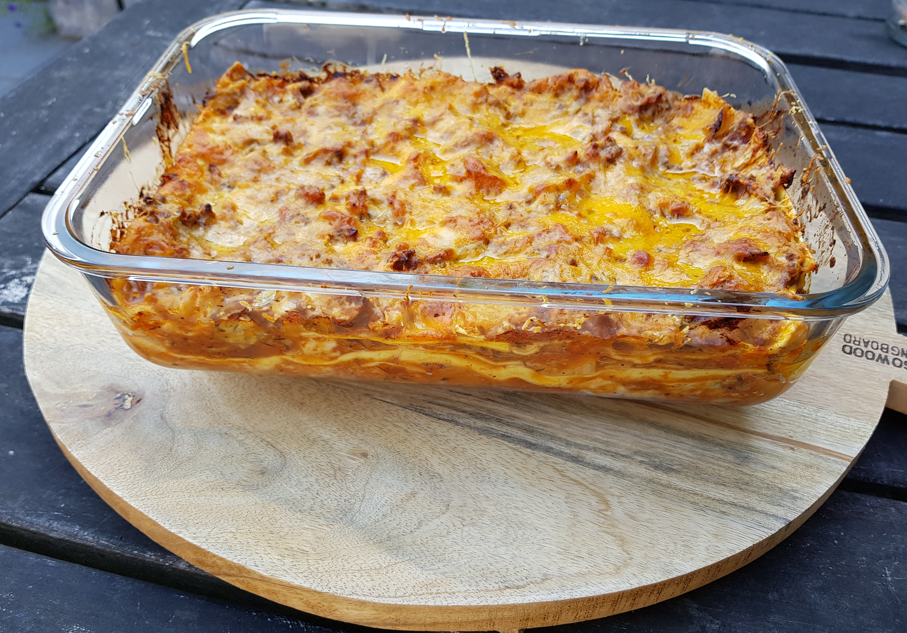 Recept lasagne met spitskool en gehakt BurgertrutjesNL