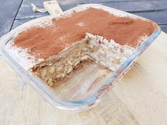 Recept Tiramisu met banaan zonder pakjes en zakjes