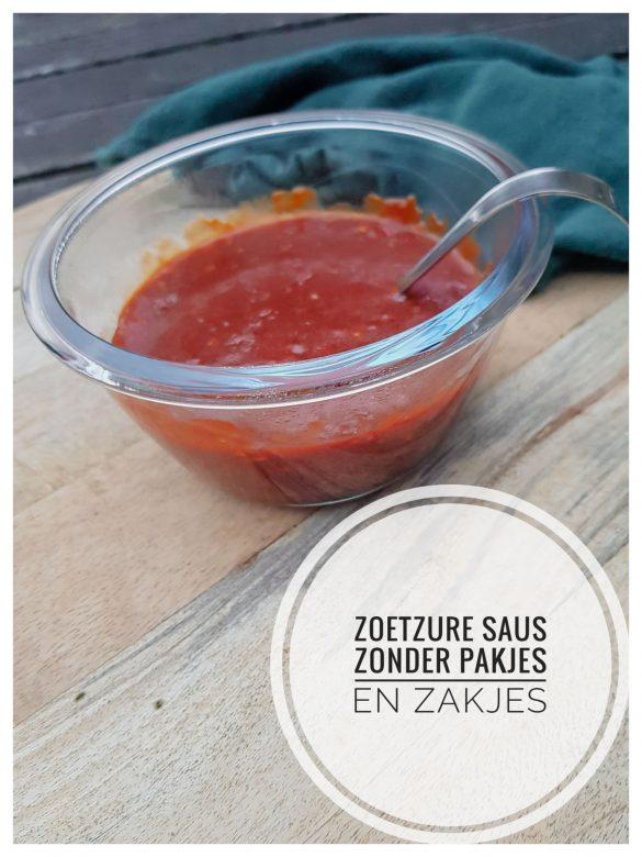 Recept Zoetzure saus zonder pakjes en zakjes