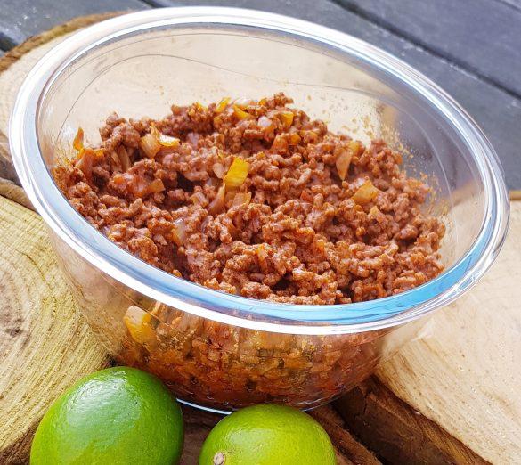 Recept mexicaans gehakt zonder pakjes en zakjes