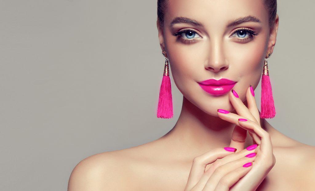 roze lipstick