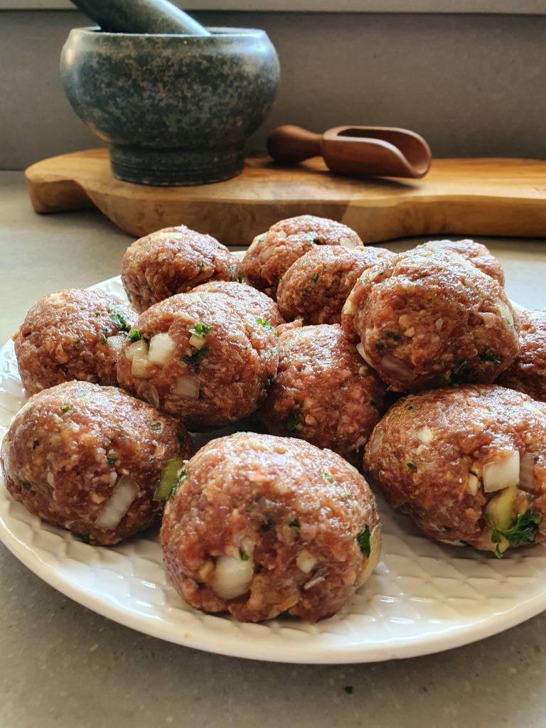 Oosterse gehaktballetjes met sojasaus zonder pakjes en zakjes recept