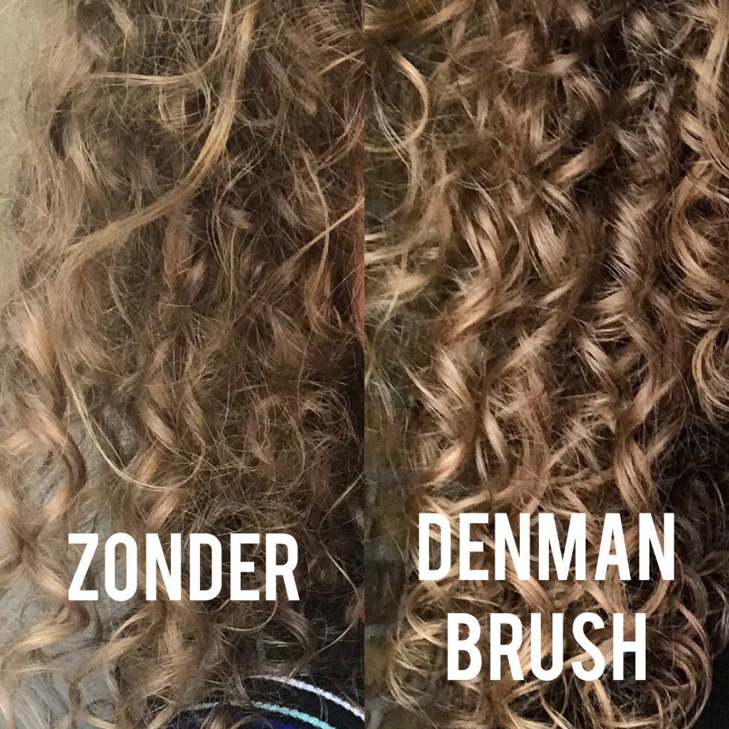 denman brush effect