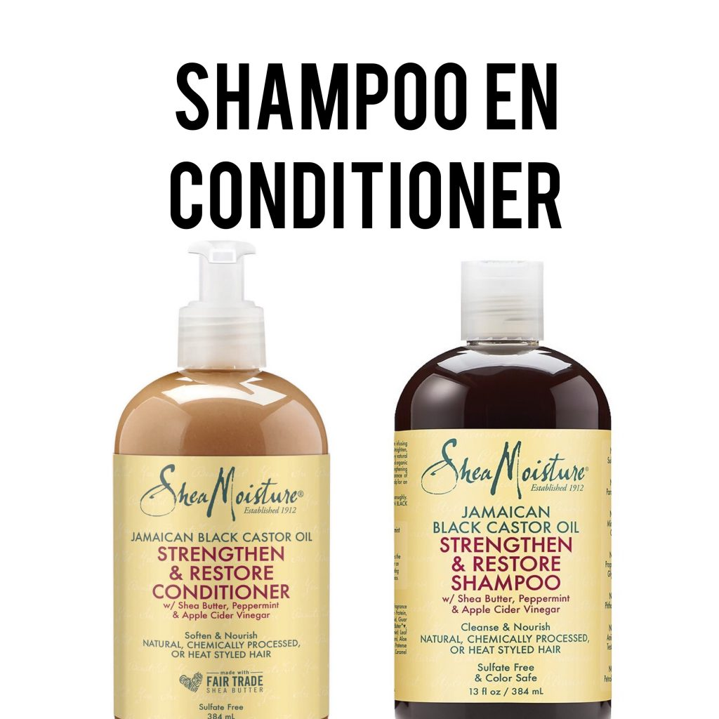 curly girl methode shampoo en conditioner