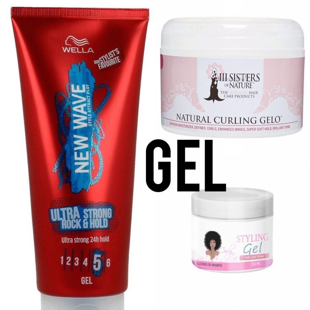 Curly girl methode gels