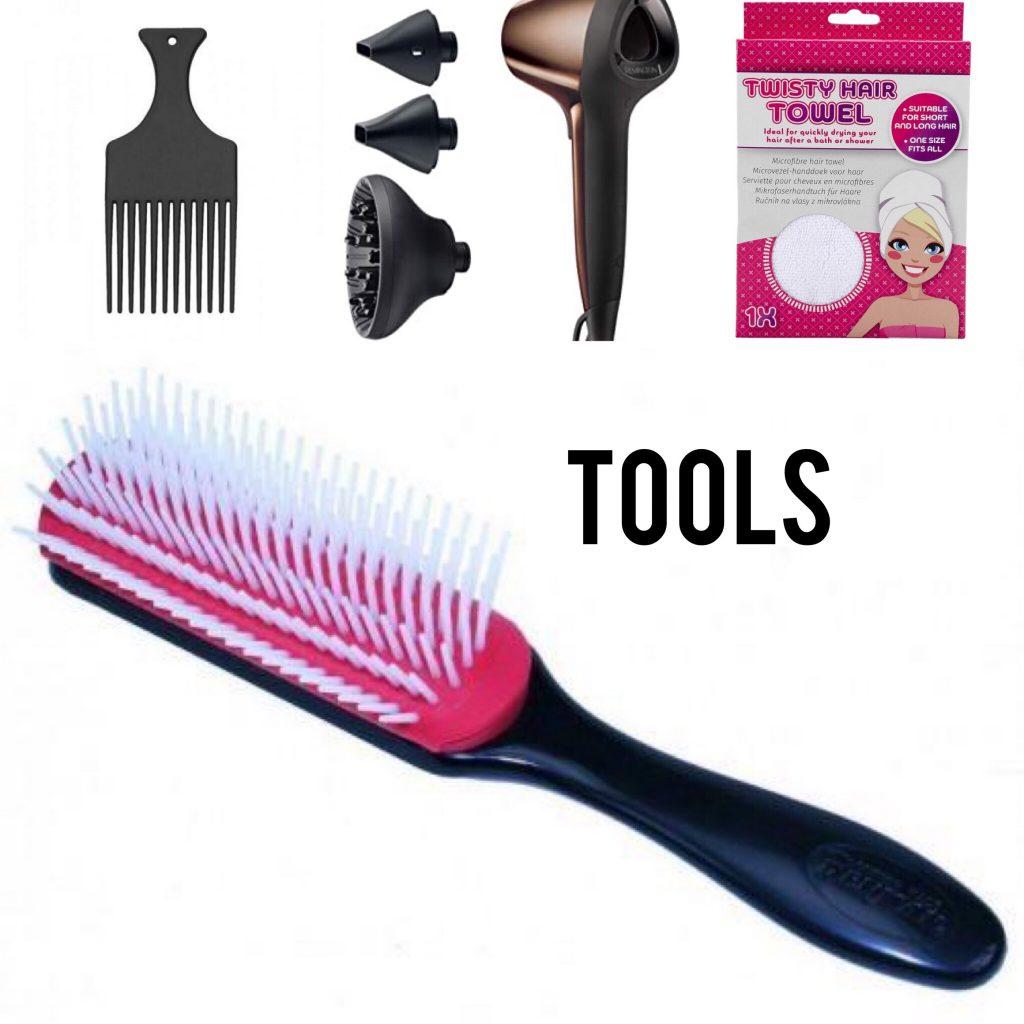 Curly girl methode producten