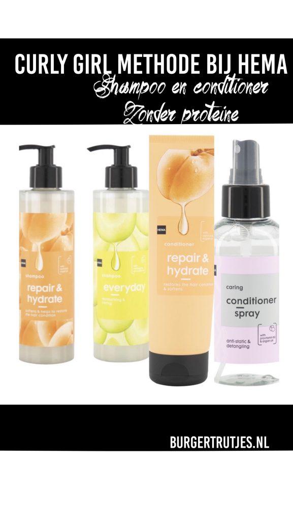 Hema cg shampoo en conditioner zonder proteine