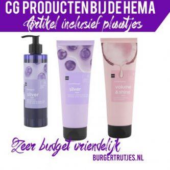 CG producten bij de hema
